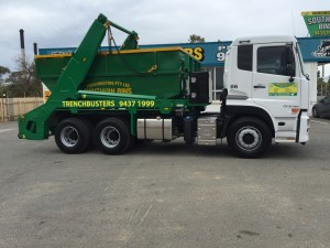 Marrel lifter truck